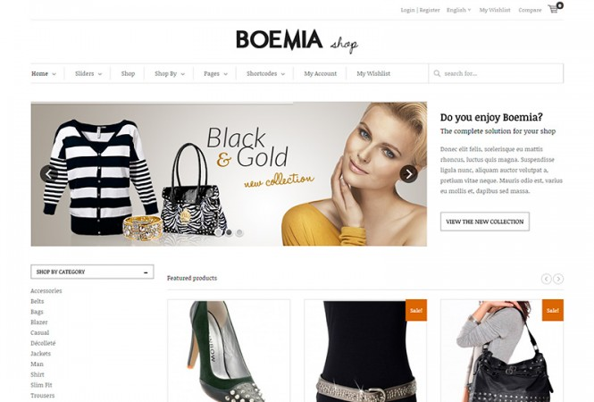 Boemia Tema Wordpress