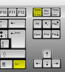 CTRL-STAMP tastiera
