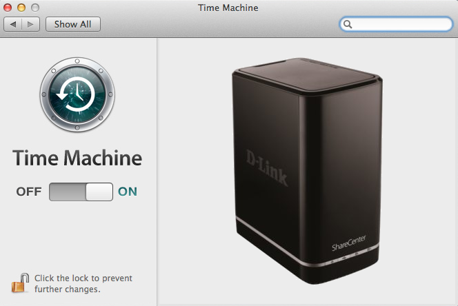 d-link-dns320l-time-machine