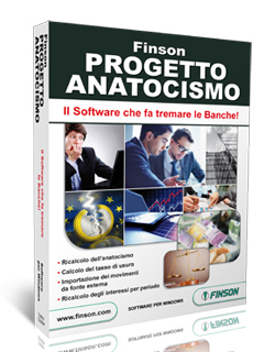 FINSON PROGETTO ANATOCISMO PER WINDOWS