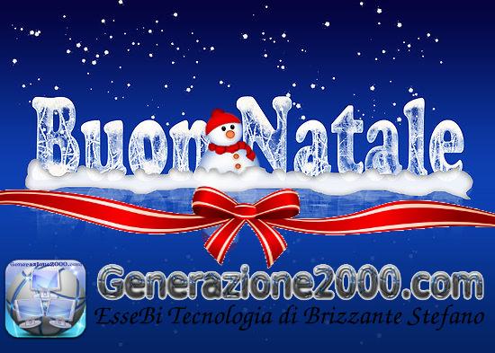 Generazione2000 Buon Natale