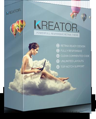 Kreator - Multipurpose Wordpress theme