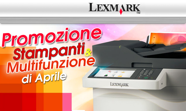 Lexmark promo aprile2015 testata