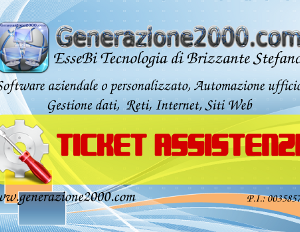 Ticket Assistenza