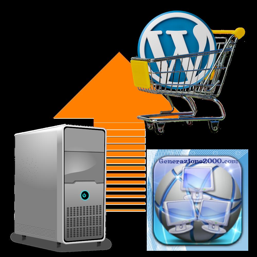 Wordpress uolad file prodotti