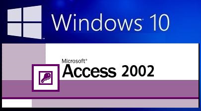 Windos10-Access2002