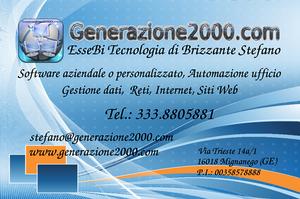 Automazione ufficio, Gestione dati, Reti, Internet, Siti Web