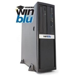 Pc Winblu Essential L5 0619w10edu Sff 13lt H410 Intel I5-10400 8gbddr4 256ssd Dvdrw+cr Vga+hdmi Pci-e W10proedu T+m 2y Onsite