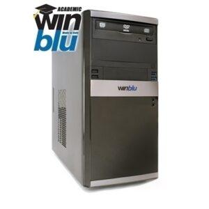 Pc Winblu Energy L5 0622w10edu 24lt H410 Intel I5-10400 8gbddr4 256ssd Dvdrw Vga+hdmi Pci-e W10proedu T+m 2y Onsite