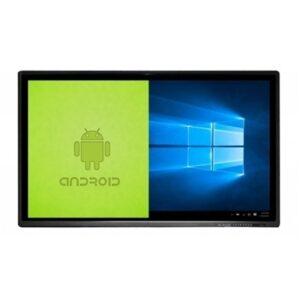 Monitor Yashi Touch Interattivo 86''4k 10 Tocchi Android/windows Con Ops Staffa Ly8600 Spese Trasporto Non Incluse Fino:31/03