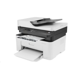 Stampante Hp Mfc Laser 137fnw 4zb84a White A4 4in1 Adf 20ppm 128mb 1200dpi Lcd 1-5utenti Wifi-usb-lan 1y