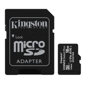 Micro Secure Digital  16gb Sdcs2/16gb Class10 Uhs-i 100mb/s + Adattatore Canvas Select Plus Kingston