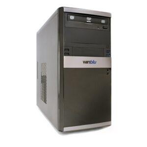 Pc Winblu Energy L5 4112w10 H310 Intel I5-9400 8gbddr4/2666 256ssd Dvdrw Vga+hdmi Pci-e W10pro/64 T+m 2y Onsite