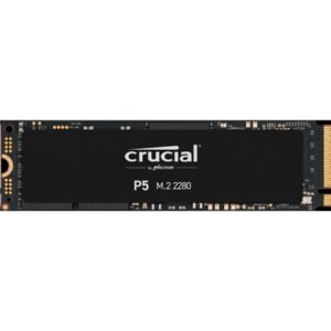 Ssd-solid State Disk M.2(2280) Nvme 1000gb (1tb) Pcie3.0x4 Crucial P5 Ct1000p5ssd8 Read:3400mb/s-write:3000mb/s