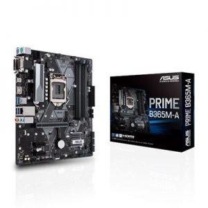 Mb Asus Prime B365m-a B365 Lga1151 4xddr4dc-2666 Vga Dsub Dvi-d Hdmi 1xpcie3.0x16 6xsata3r M2 Gblan Usb3.1 Matx 90mb10n0-m0eay0