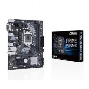Mb Asus Prime B365m-k B365 Lga1151 2xddr4dc-2666 Vga Dsub Dvi-d 1xpcie3.0x16 6xsata3r M.2 Gblan Usb3.1 Matx 90mb10m0-m0eay0